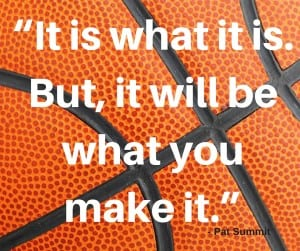 Pat Summit is a role model. A game changer. One to emulate every day whether you love basketball or not.It wasn't just basketball, but also her mission. | Healing Touch Chiropractic